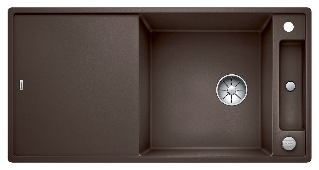 Photos 1: Blanco 1523519 Axia 3 Xl 6 S Built-in sink 100 x 51 coffee - reversible drainer