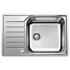 Blanco 1623140 Stainless steel flush-mounted sink 78 x 50 - reversible drip tray Lantos Xl 6 S-if Compact