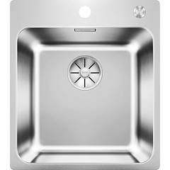 Blanco Solis 400-if/a 44 x 50 sink 1 over / flush-mounted bowl - stainless steel