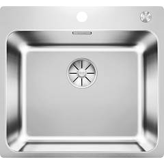 Blanco Solis 500-if/a Sink 1 over / filotop 54 x 50 bowl - stainless steel