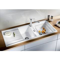 Photos 2: Blanco METRA 8 S Metra Built-in sink cm. 116 x 50 silgranit - pearl gray - reversible drip