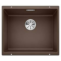 Blanco Subline 500-u Undermount sink cm. 53 x 46 silgranit - coffee Subline