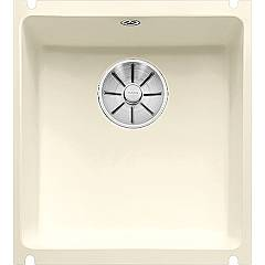 Blanco Subline 375-u Undermount sink cm. 41 x 46 porcelain ceramic - brilliant magnolia Subline
