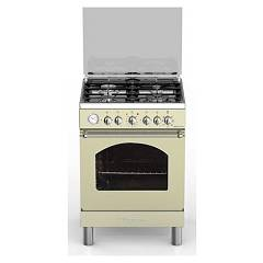Bompani BO644JF/N - BELLE EPOQUE The kitchen from the docking cm. 60 x 60 - cream 4 burners - 1 electric oven