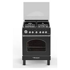 Bompani Bo647jf/n Kitchen from accosto cm. 60 x 60 - anthracite 4 fires - 1 electric oven Belle Epoque