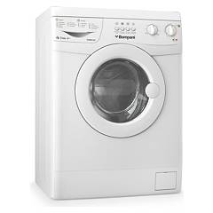 sale Bompani Bome810/e Washing Machine Cm. 60 H 85 - Capacity 8 Kg - White Free Standing