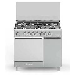 Bompani BO953EC/L The kitchen from the docking cm. 90 x 60 - stainless steel 5 fires - 1 kiln - cylinder holder