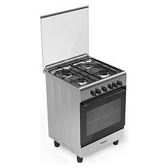 Bompani BI643KB/N The kitchen from the docking cm. 60 x 60 - stainless steel 4 burners - 1 electric oven