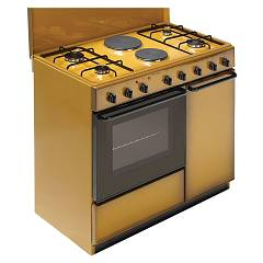 Bompani BI941EB/L - ECOLINE Kitchen cm. 90 - coppertone 6 burners - 1 electric oven