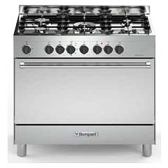 Bompani BO693DH/N - TECH Kitchen cm. 90 - inox 1 gas oven