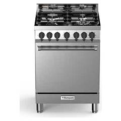 Bompani BO643CA/N - TECH Kitchen cm. 60 stainless steel 1 oven