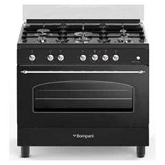 Bompani BO697VA/N - BELLE EPOQUE Kitchen cm. 90 - anthracite matt 1 gas oven