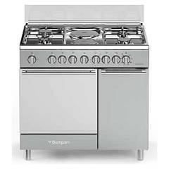 Bompani Bo943cd/l Kitchen cm. 90 with bottle holder - inox 1 electric oven Diva