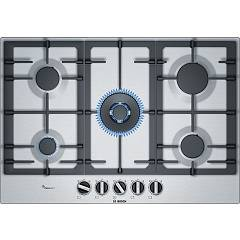 Bosch Pcq7a5b90 Gas cooking top cm. 75 - stainless steel Serie 6