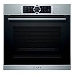 Bosch Hbg675bs1 60 cm pyrolytic built-in oven - stainless steel Serie 8