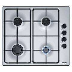 Bosch Pbp6b5b80 Gas cooking top 60 cm - inox lateral controls Serie 2