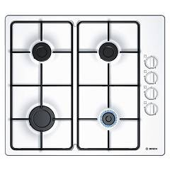 Bosch Pbp6b2b80 Gas cooking top 60 cm - white lateral controls