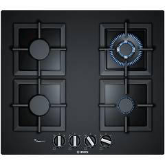 Bosch Pph6a6b20 Gas hob 60 cm - tempered glass - black Serie 6