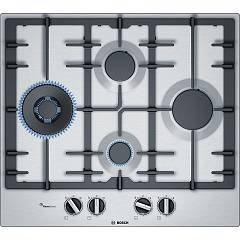 Bosch Pci6a5b90 Gas hob 60 cm - stainless steel Serie 6
