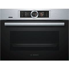 Bosch Csg656rs6 Combined steam oven - built-in compact cm. 60 h 45 - black / inox