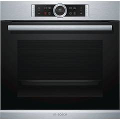 Bosch Hrg635bs1 Combined combined steam oven cm. 60 h 45 - black / inox Serie 8