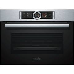 Bosch Csg656bs1 Combi oven steam - compact recessed cm. 60 h 45 - black/stainless steel