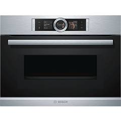 Bosch Cmg636bs2 Microwave oven - compact recessed cm. 60 h 45 - black/stainless steel