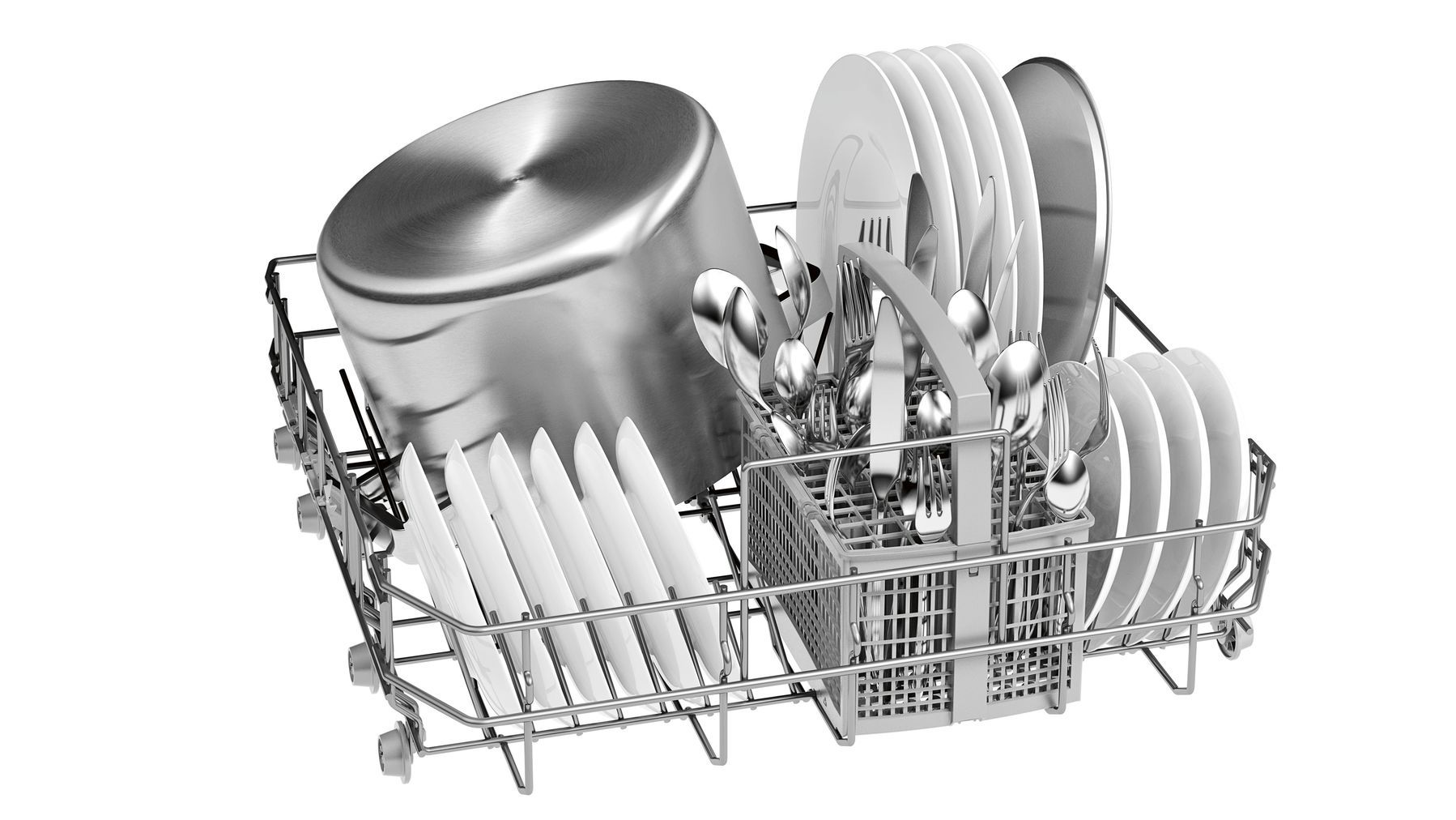 Photos 4: Bosch Dishwasher cm. 60 - 12 place settings - stainless steel SMS25AI02J