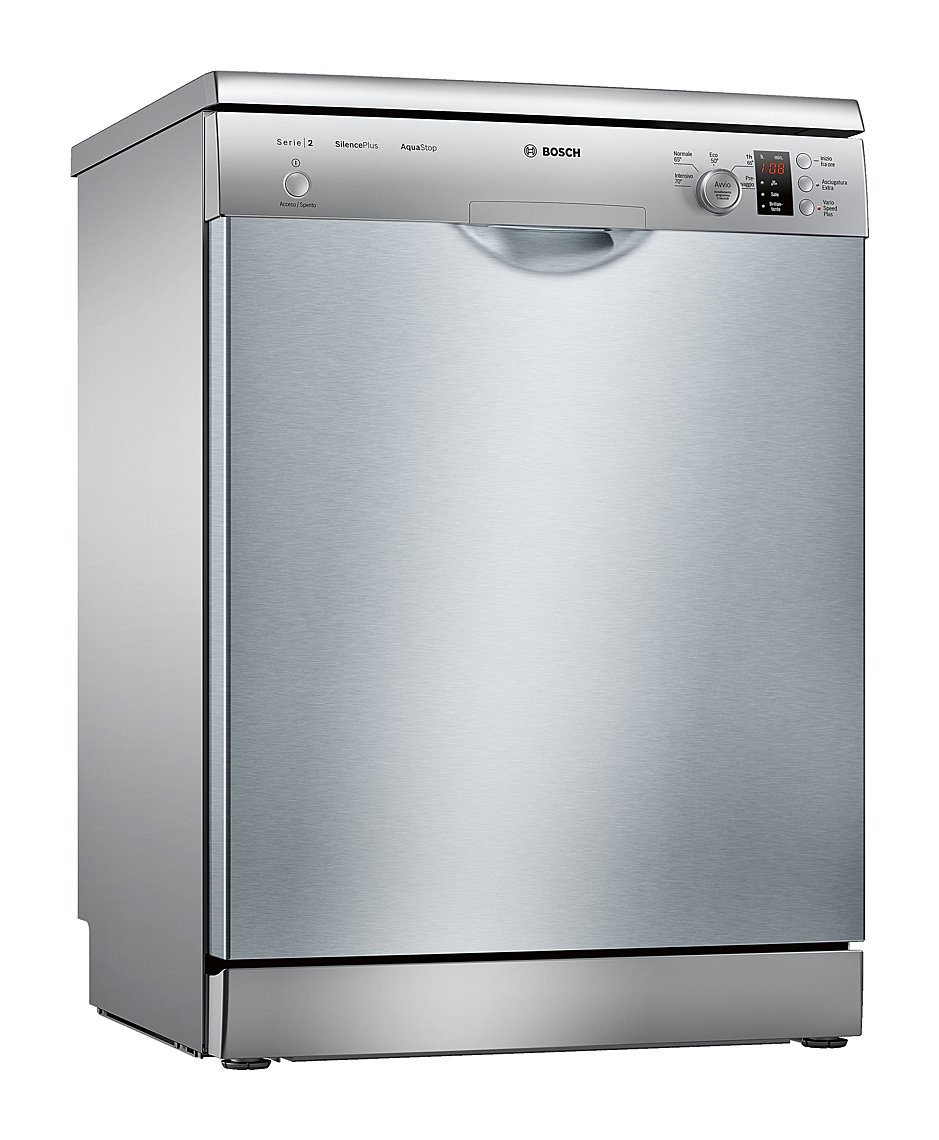 Photos 1: Bosch Dishwasher cm. 60 - 12 place settings - stainless steel SMS25AI02J