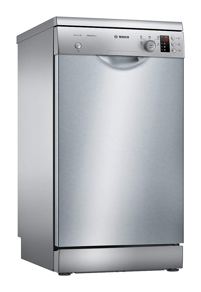 Photos 1: Bosch SPS25CI05E Serie 2 Silence Plus Dishwasher cm. 45 - 9 place settings - inox