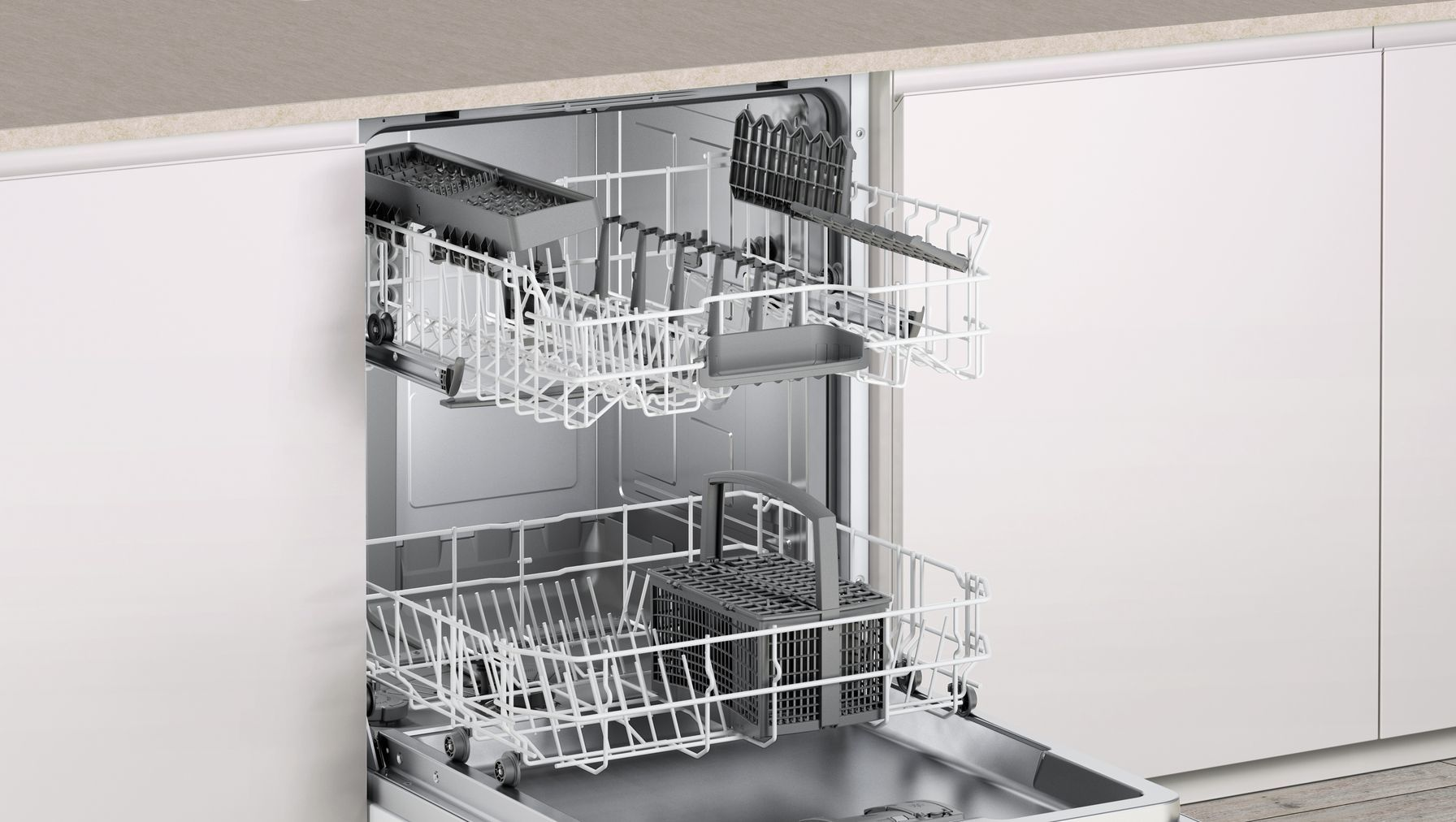 Photos 6: Bosch Built-in dishwasher - cm. 60 to 12 place settings SMV40D70