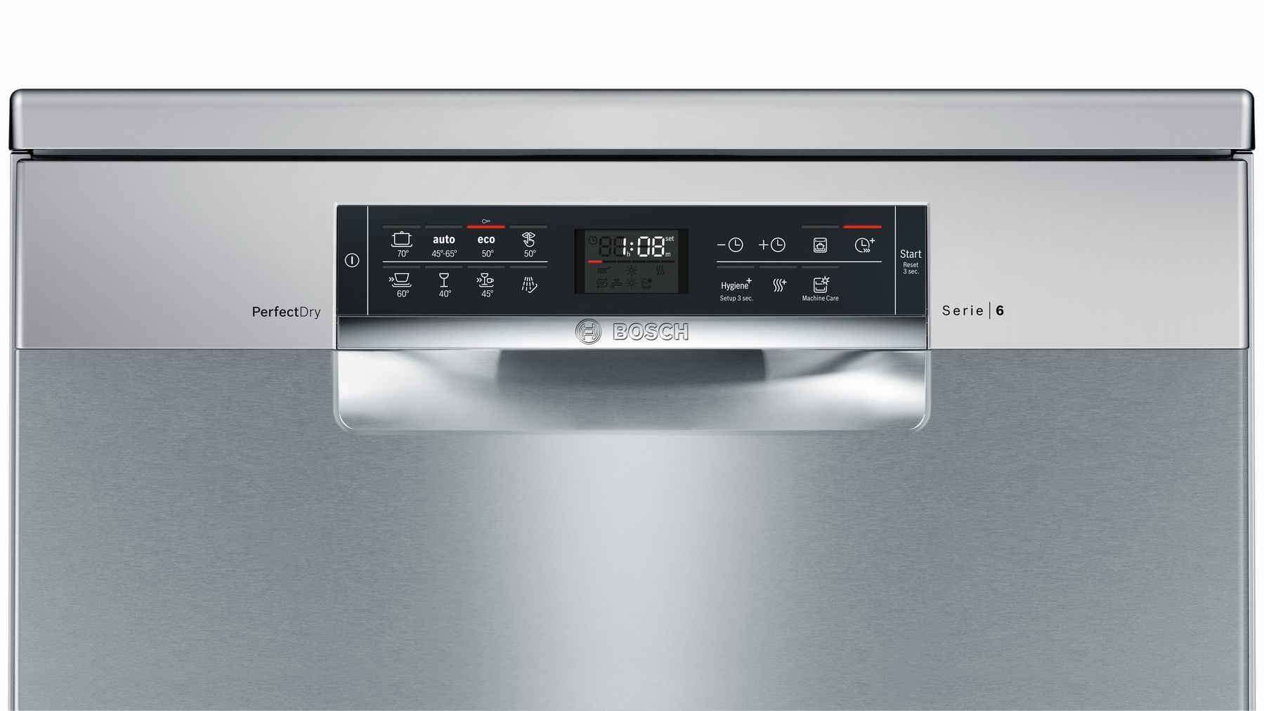 Photos 5: Bosch Dishwasher cm. 60 - 14 place settings - stainless steel anti-fingerprint SMS68MI04E