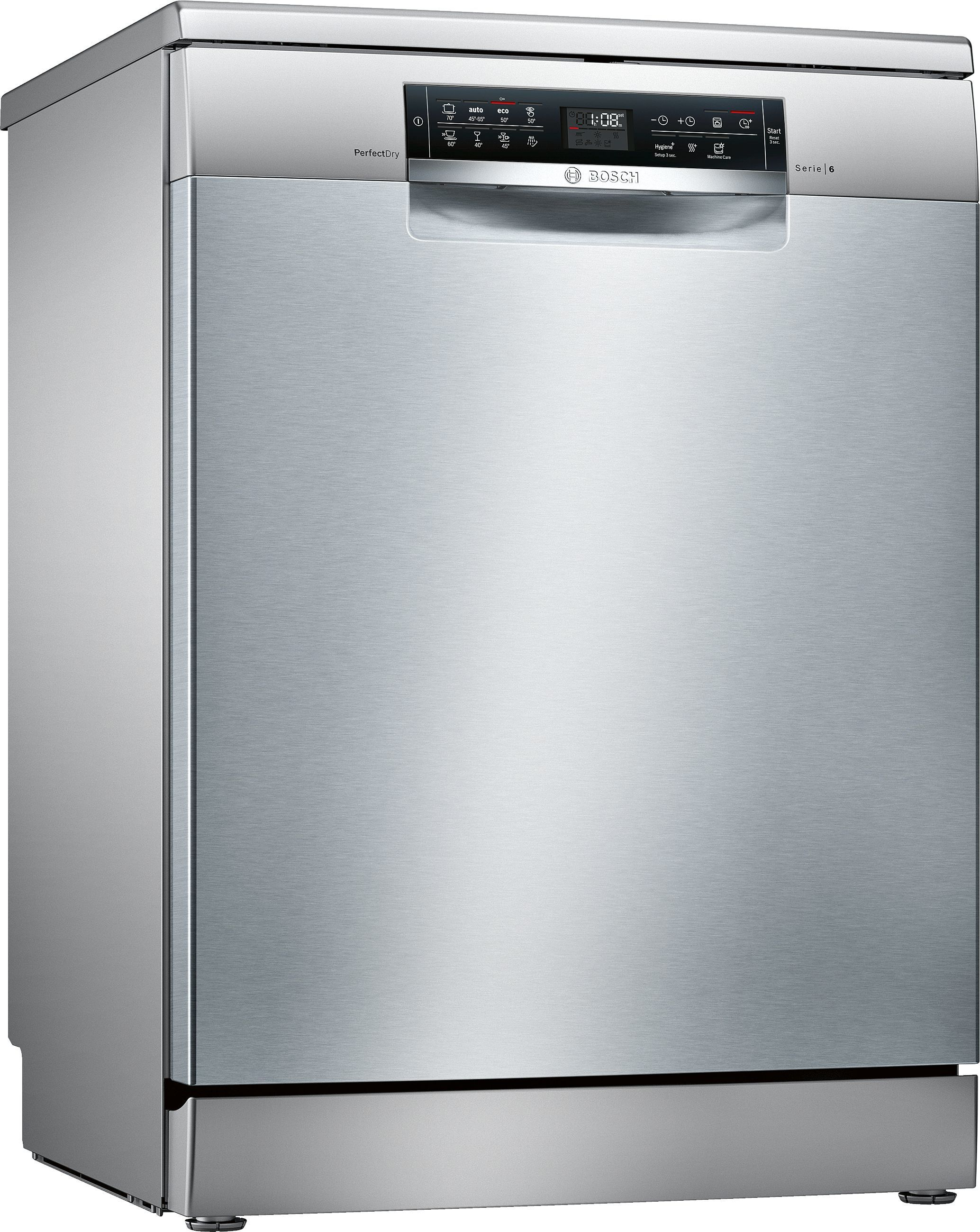 Photos 1: Bosch Dishwasher cm. 60 - 14 place settings - stainless steel anti-fingerprint SMS68MI04E