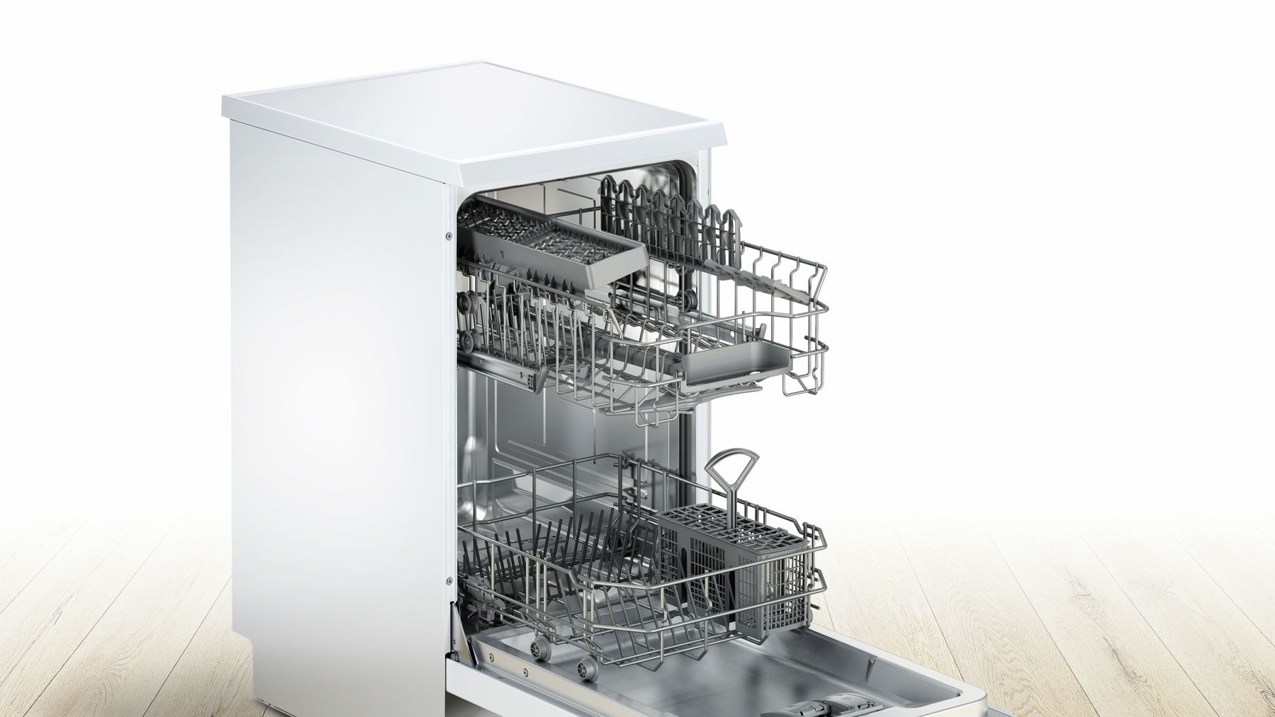 Photos 2: Bosch Dishwasher cm. 45 - 9 covered SPS25CW00E