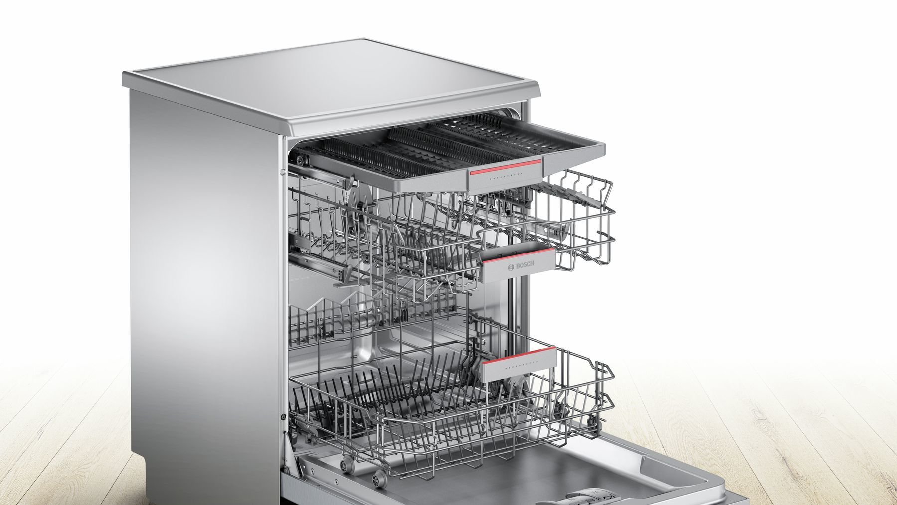 Photos 6: Bosch Dishwasher - cm. 60 to 14 place settings SMS46MI08E