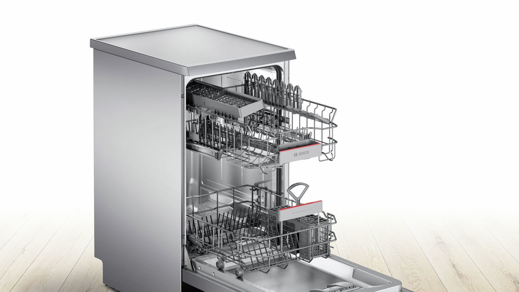 Photos 4: Bosch Dishwasher cm. 45 - 9 covered SPS46II07E