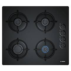 Bosch Pop6b6b10 Gas hob cm. 60 - black tempered glass Serie 2