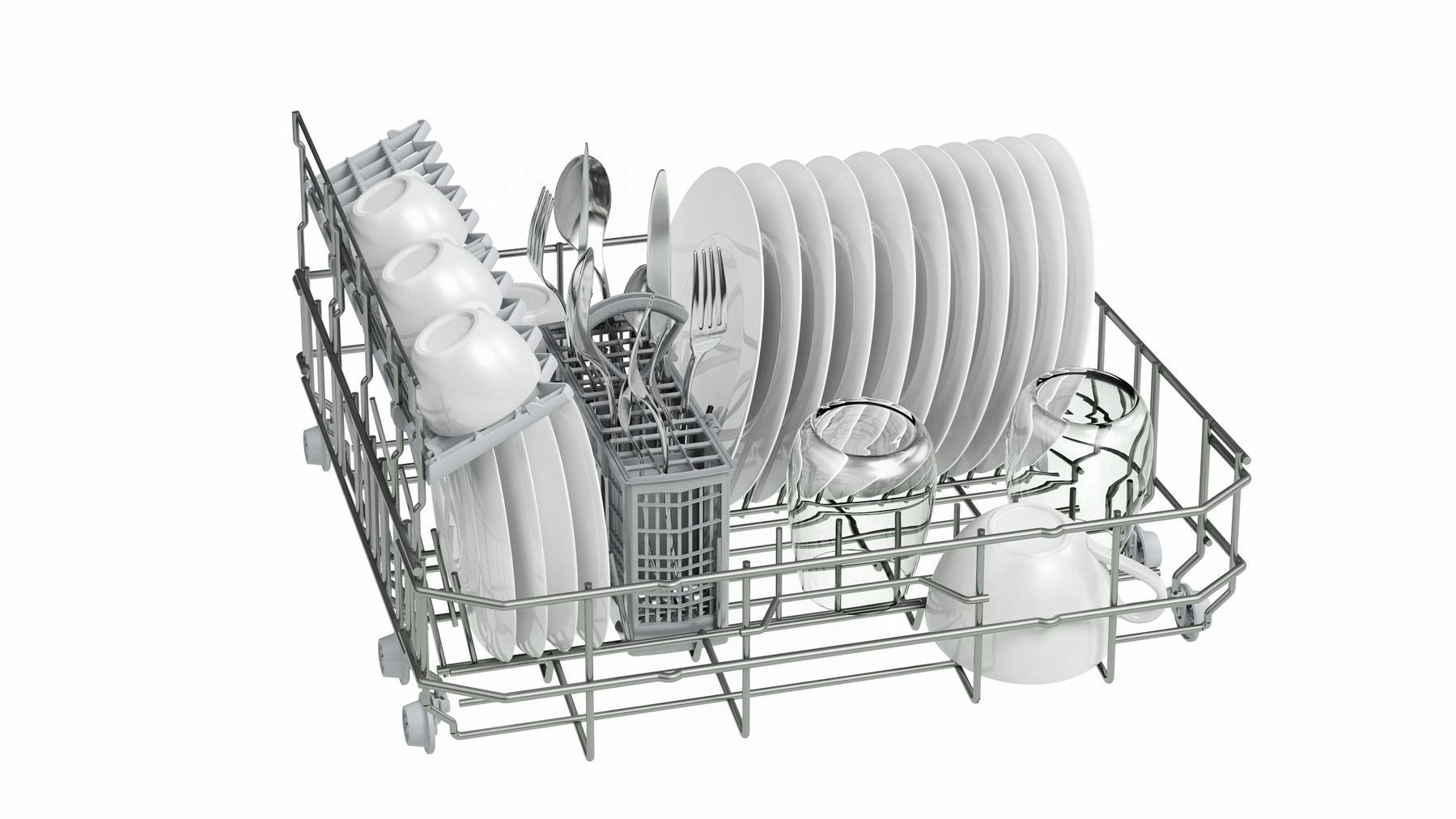 Photos 2: Bosch Compact dishwasher with free installation cm. 55 - 6 covered SKS62E28EU