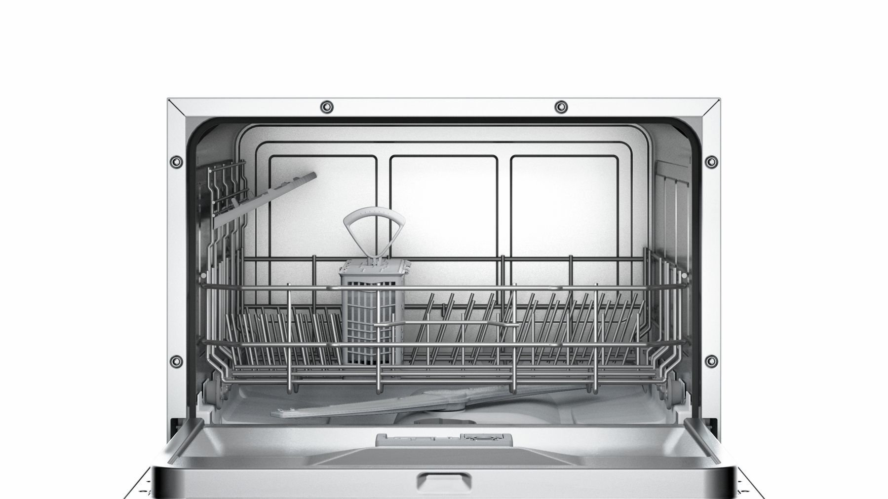 Photos 5: Bosch Compact dishwasher with free installation cm. 55 - 6 covered SKS62E28EU
