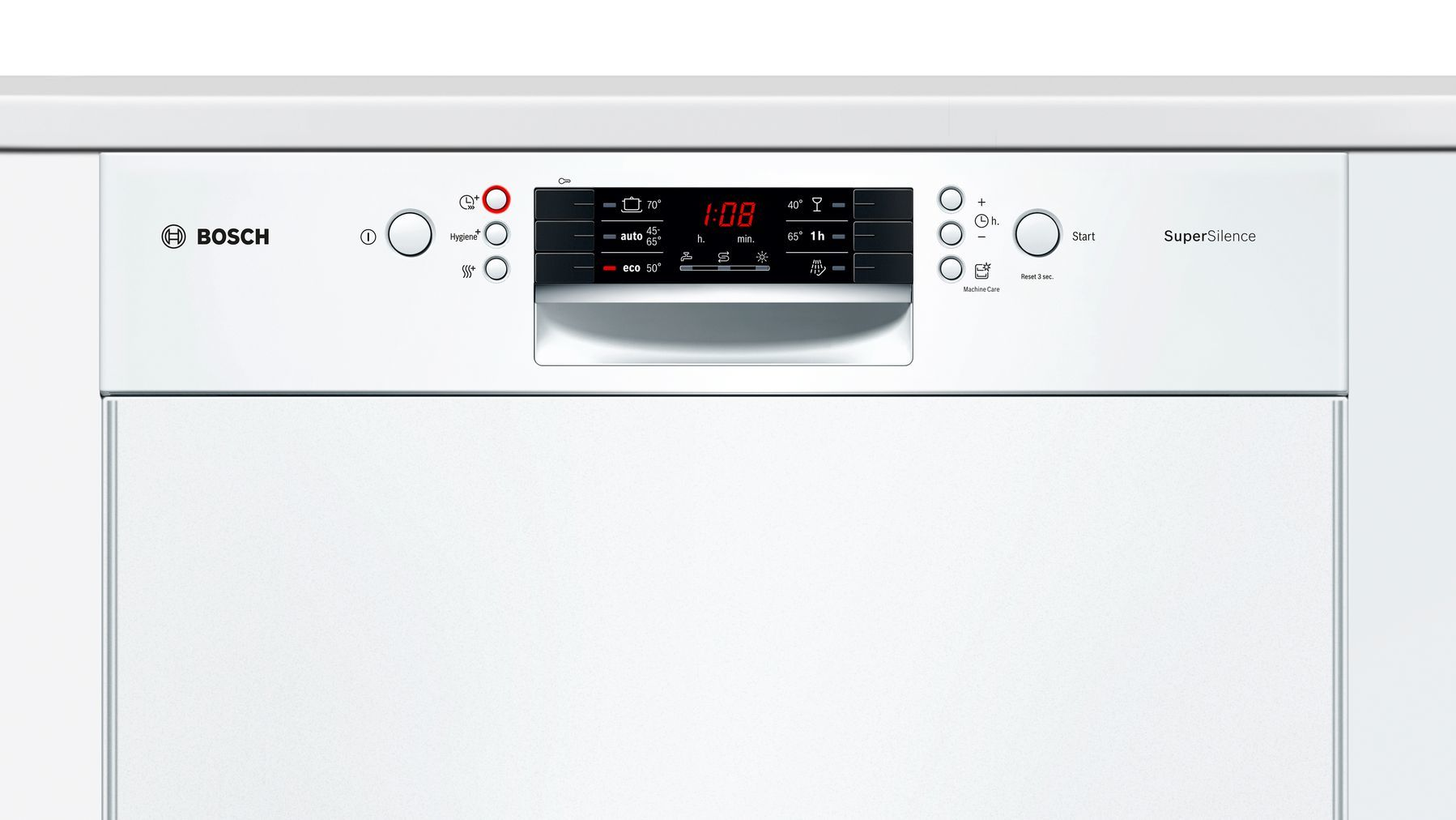 Photos 4: Bosch Built-in dishwasher cm. 60 - 13 place settings - white SMD46IW03E