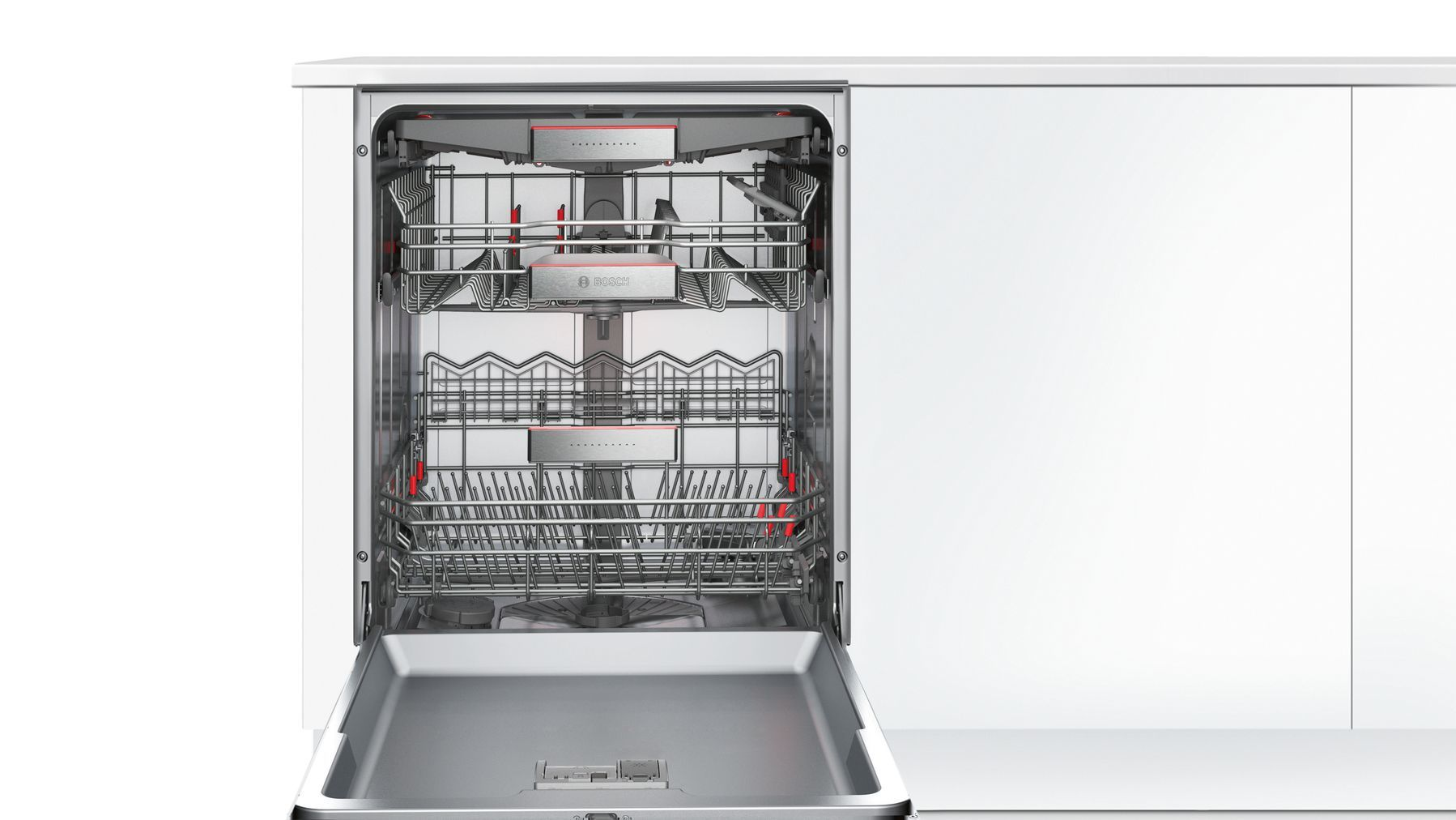 Photos 2: Bosch Integrated dishwasher cm. 60 - 14 place settings - white SMI68TS06E