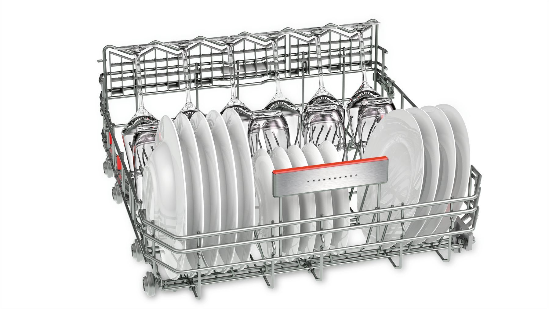 Photos 5: Bosch Integrated dishwasher cm. 60 - 14 place settings - white SMI68TS06E