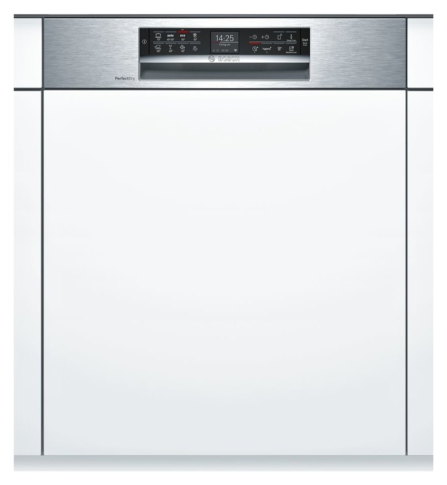 Photos 1: Bosch SMI68TS06E Serie 6 Integrated dishwasher cm. 60 - 14 place settings - stainless steel