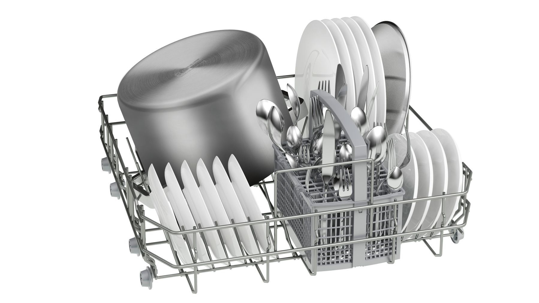 Photos 4: Bosch Dishwasher for free installation cm. 60 to 12 place settings SMS25AW01J