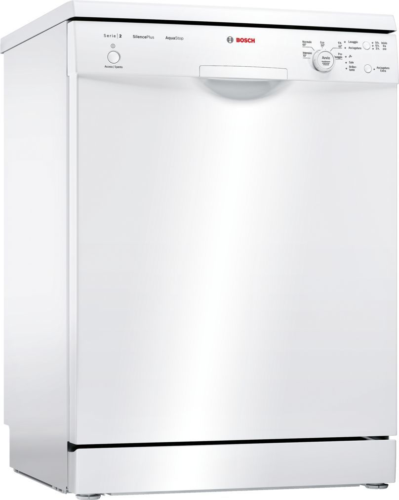 Photos 1: Bosch Dishwasher for free installation cm. 60 to 12 place settings SMS25AW01J