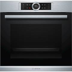 Bosch Hbg655bs1 Built-in oven cm. 60 with automatic programs - stainless steel Serie 8