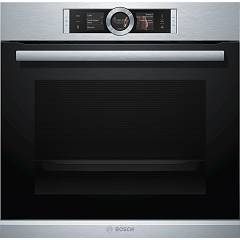 Bosch Hrg656xs2 Combined steam oven cm. 60 with automatic programs - stainless steel Serie 8