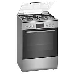 Bosch Hxn390d50l Striking kitchen cm. 60 - 4 gas burners + 1 electric oven - stainless steel Serie 4