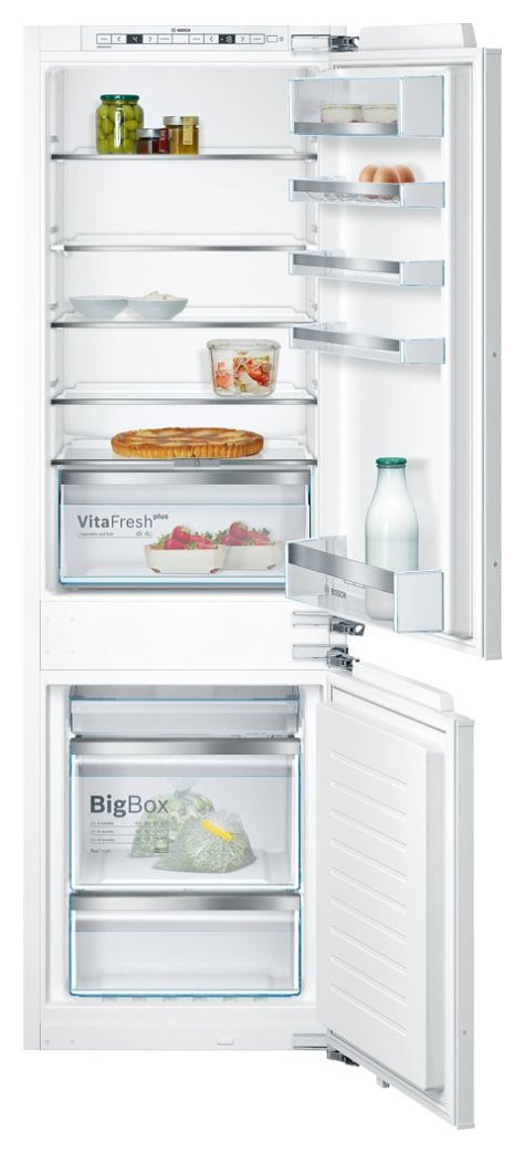 Photos 1: Bosch KIN86KF31 Serie 6 Built-in refrigerator-freezer cm. 56 h 177 - 255 lt.