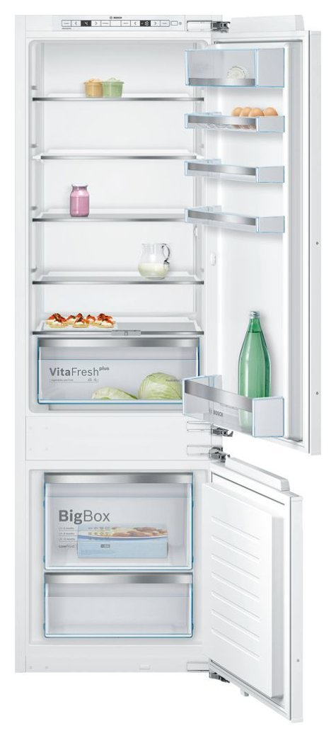 Photos 1: Bosch KIS87KF31 Serie 6 Built-in refrigerator-freezer cm. 56 h 177 - 270 lt.